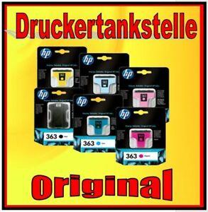 original HP 363 Multipack Photosmart 3110 3210 3310 8250 C3180 C6180 C6280 C6270