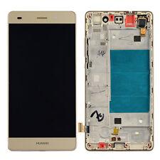 """Vitre Tactile+Ecran LCD+Chassis Remplacement Pour 5"""" Huawei P8 Lite ALE-L21 Gold"""