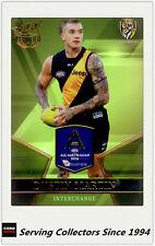 2017 AFL Certified Series All Australia Team Card AA21 Dustin Martin (Richmond)