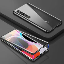 For Xiaomi Note 9 8 Pro MI 10 Lite Magnetic Adsorption Tempered Glass Case Cover