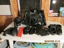 Child's Full Set of Kickboxing Mma Training Equipment w/All Leather Duffel Small