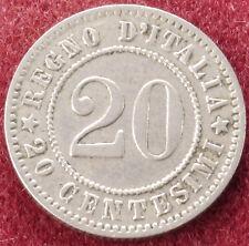 Italia 20 Centesimi 1894 KB (C1212)