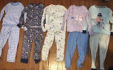 Bundle Of Girls Pyjamas Age 6-7 (including Christmas Pjs) From M&S And TU