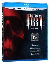 MASTERS OF HORROR : SEASON 1 Volume 4 -   Blu Ray - Sealed Region free