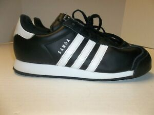 Mens Size 6.5 Adidas Originals Samoa Black w/ White
