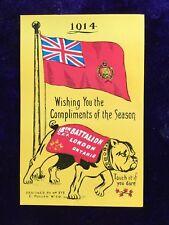 Canada Forces. 18th Battalion , Postcard , Unused , Plain back