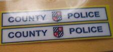 Contea di polizia. Decalcomanie Adesivi