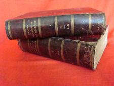 dictionnaire de médecine usuelle en 2 volumes par le Dr.Paul Labarthe (1887)