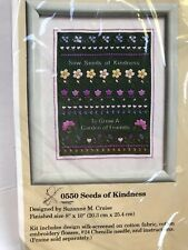 "The Creative Circle Seeds Of Kindness 0550 Suzanne M Cruise 8"" X 10"" New"
