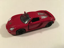 Siku Porsche Carrera GT Red Scale 1:55 Diecast Model Supercar