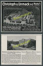 Construction Wilhelm II. Adel municipal creche Baltic Unmack Niesky Saxony 1916