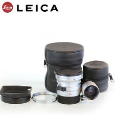 LEICA ELMARIT-M 24 mm F 2. 8 ASPH Silver +  Lens Hood + E55 Filter + Finder Set
