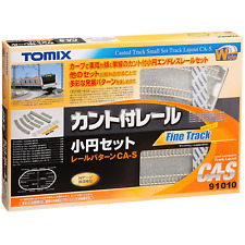 Tomix 91010 Canted Track Small Oval Set Layout Pattern CA-S - N