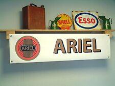 Ariel Motorcycles Banner Workshop Garage Sign. Arrow - Leader - Square - four