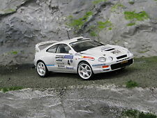 QSP Toyota Celica GT-Four 1995 1:24 #4 Wevers / Poel Golden Tulip Rally 2001