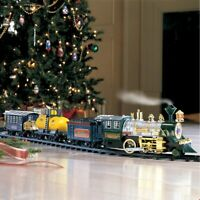 Deluxe Lights and Sounds Christmas Under The Tree Train Set