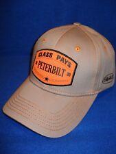 Peterbilt Hat          3D Orange patch cap   *FREE SHIPPING IN U.S.A.*