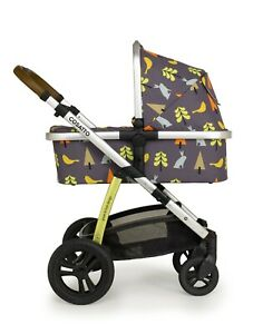 Brand new Cosatto Wow 2 pram and pushchair bundle in I Spy with raincover