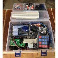 Kit électronique 830 points breadboard 1602 LCD fil cavalier pour UNO R3