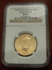 Monedas de oro NGC MS 69