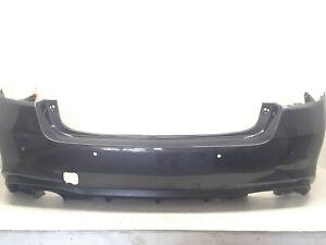 Rear Bumper Cover Subaru Legacy w/Sensor Holes 2018 2019 57704AL17A OEM