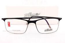 20f7265d96f New Silhouette Eyeglass Frames URBAN FUSION FULLRIM 2904 6051 Black Gray SZ  54