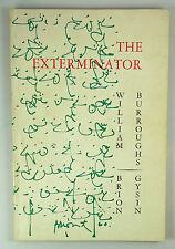 William Burroughs , Brion Gysin - The Exterminator - 1st Ed 1960