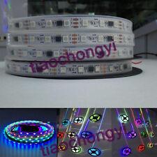 5M Waterproof WS2811 IC 5050RGB Dream Color 30LED/M DC12V Pixel Strip White PCB