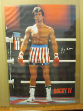 Rocky IV 1985 Balboa ORIGINAL Vintage Poster 5445