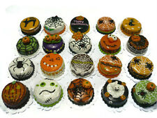 20 Different Halloween Cake Dollhouse Miniatures Food Deco Holiday Season