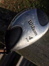 Wilson 21 Degree Fat Shaft Hybrid R Flex Steel Fat Shaft No Reserve