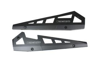 Pro Armor Rock Sliders Guard Protector Matte Black Polaris RZR 900 1000 Turbo