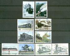 Japan - Steam Locomotives series 1974-75