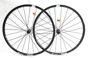 "XLC Evo Dt Swiss X466D QR-QR Disc Wheelset Black 6 hole MTB 29/"""