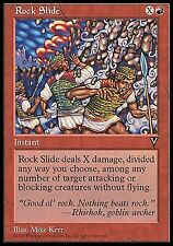 Rock Slide X4 EX/NM Visions MTG Magic Cards Red