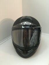 HJC CL-16 Snowmobile/Motorcycle Helmet — XL, Matte Black