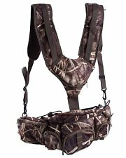 Hunting Camo Fanny Pack Harness Waist Pack Pouch Shoulder Strap Climbing Camping