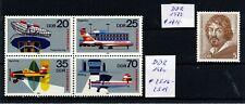 Briefmarkensammlung DDR 1973 ** und 1980 ** -  1,00 €