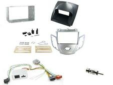 Connects2 Ford Fiesta Mk7 08-10 Double Din Stereo Fitting Kit Silver / Grey