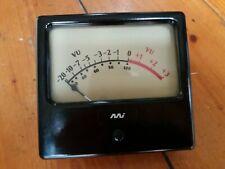 Vintage Master Instruments Panel Mount VU Meter