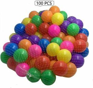 PITS BALL PEN POOL BATH PLAY ROOM BALLS KIDS SOFT PIT BALLS