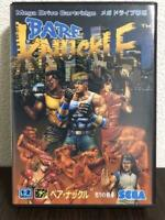 Bare Knuckle Street Of Rage Sega Mega Drive MD Genesis Used Japan Free Shipping