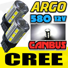 580 T20 18 Cree Smd Led Super Blanco Canbus Error Free Trasero Stop Tail Light Bulbs