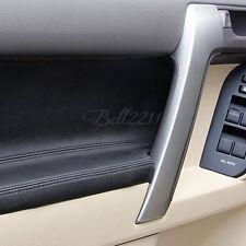 For Toyota Prado 2014 2015 2016 ABS Matte Inner Armrest Door Handle Cover Trim