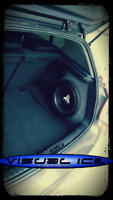 BMW E87 E81 1 Hayon Stealth Sub Haut Parleur Boîtier Boite Son Basse Audio 10 12