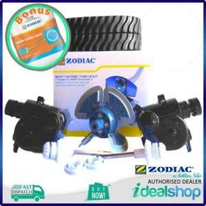 Zodiac MX8 A10 Pool Cleaner Factory Tune-Up Kit R0682000 Tracks & Engine + BONUS