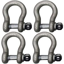 4 58 Shackle Clevis D Ring With Screw Pin Anchor Chain Rope Cable Rigging