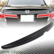 """SHIP OUT TODAY"" Carbon Fiber Honda Accord 8 Sedan OE Type Trunk Spoiler Wing 12"