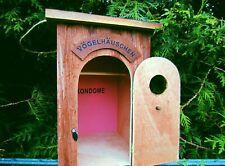 witziges Vogelhaus, Vogelhäuschen, Nistkasten ``VÖGELHÄUSCHEN`` B-Ware