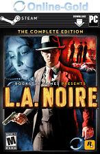 L.A. Noire Complete Edition - PC Download Key Digital Code Abenteuer [DE/EU]